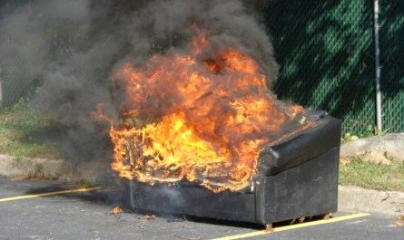 Some days your life gets along like a couch on fire.