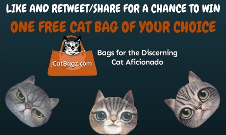 Like and Share/Retweet to Win a Free God Damn Cat Bag
