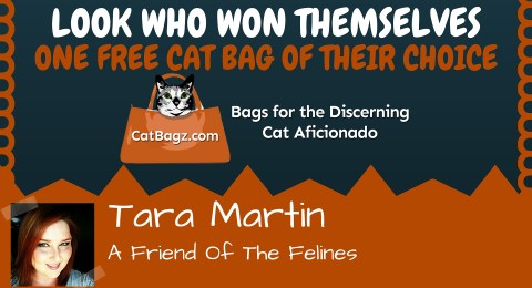 Our May Give Away Winner is Tara Martin!
