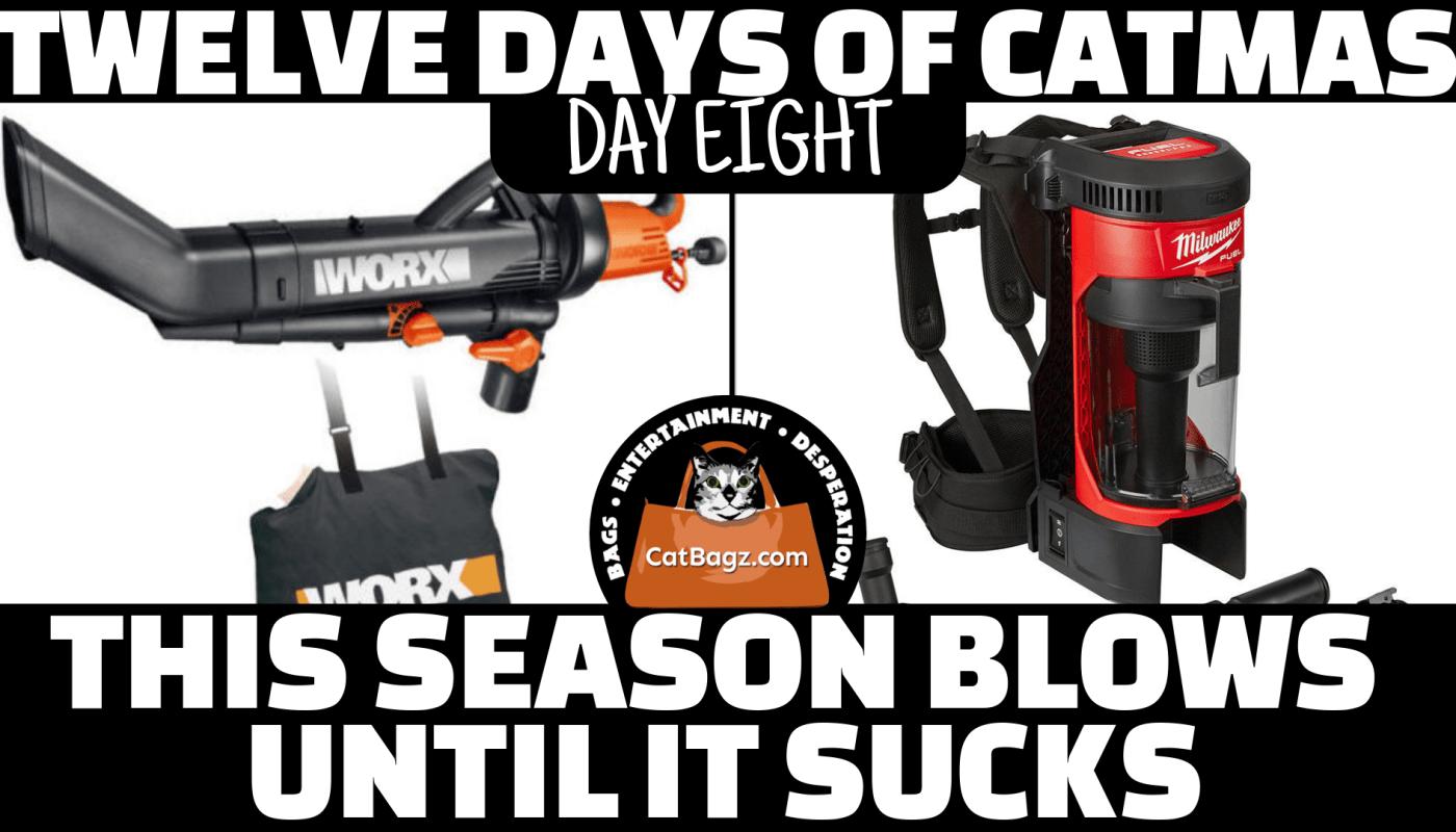 Twelve Days of Catmas - Day Eight - This Season Blows Until It Sucks