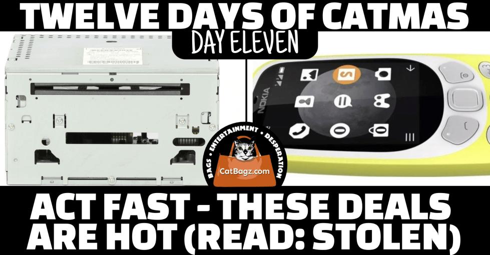 Twelve Days of Catmas – Day 11