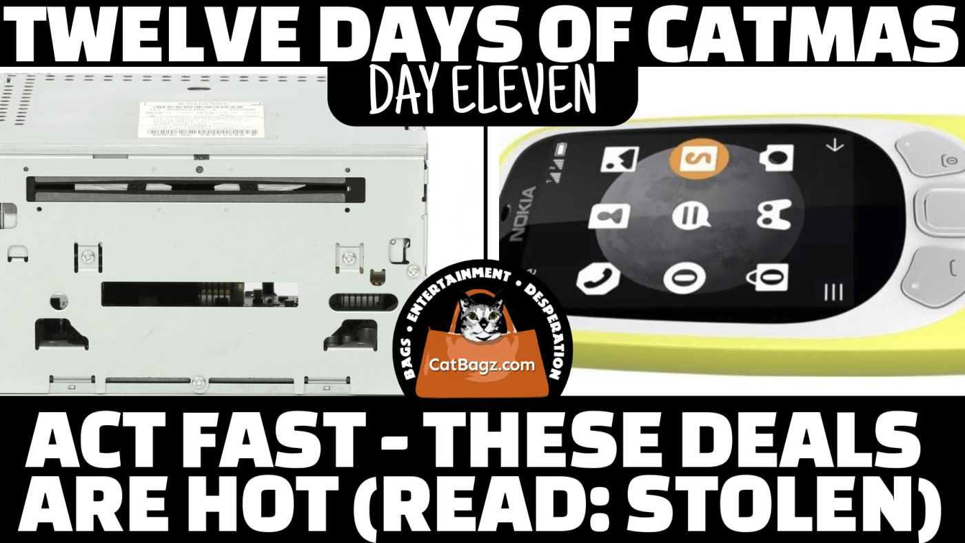 Twelve Days of Catmas - Day Eleven: We spent some time finding things of dubious sources sold for auction by questionable people.