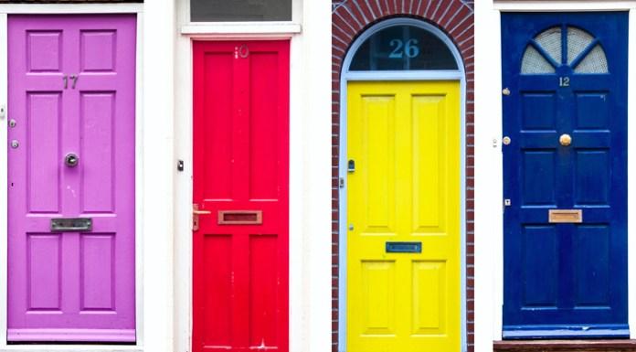 kreasi pintu rumah