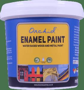 cat orchid enamel paint