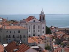 Lisbon from Alfama