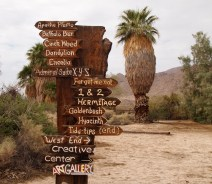 Directions at the 29 Palms Inn