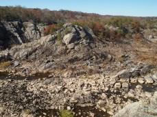 boulder bed