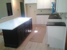 Countertops installed