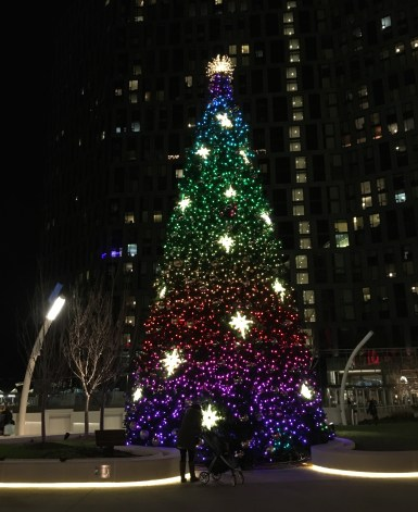 Christmas tree at Tyson's Corner