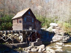 Parting shot of the Glade Creek Grist Mill
