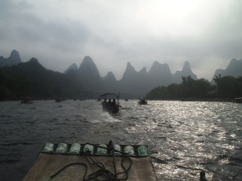 karsts on the Li River