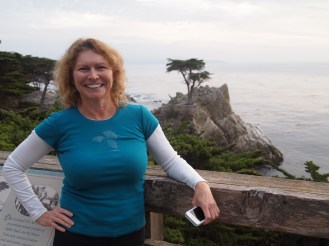 Jayne & the Lone Cypress at Pebble Beach