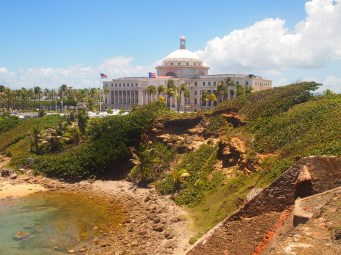 The Capitol in Old San Juan