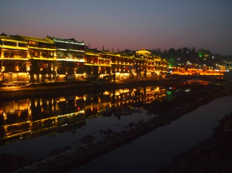 Night lights of Fenghuang