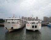 the harbor at Beihai