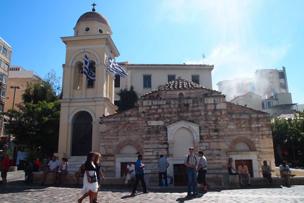 modern and ancient markets: monastiraki flea market & the ancient agora (4/6)