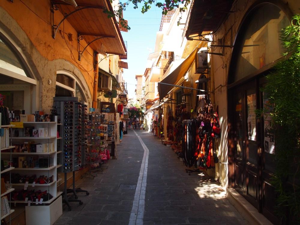 the venetian-turkish lanes of beautiful rethymno (3/6)