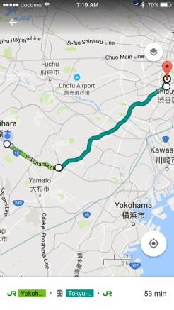 From Fuchinobe to Harajuku