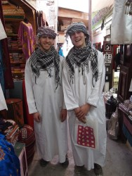 Alex & Adam at Mutrah souq
