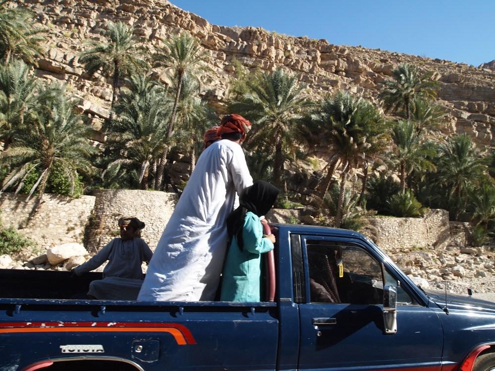 cliff leaping at wadi bani khalid (1/6)