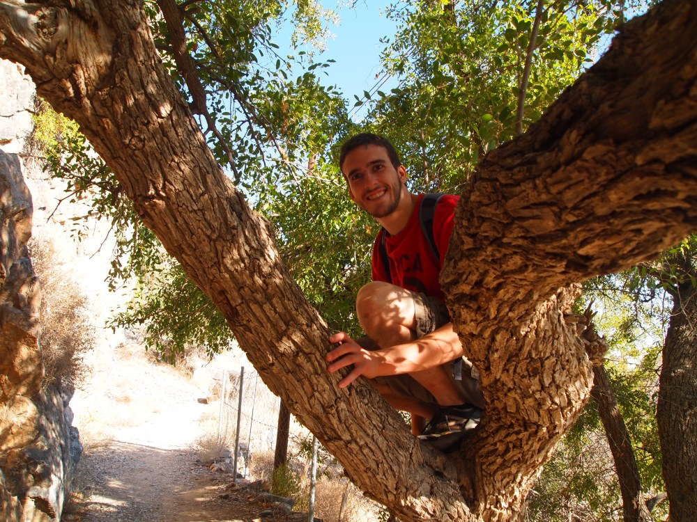 a hike around the hanging villages of wadi al ayn on jebel akhdar (3/6)