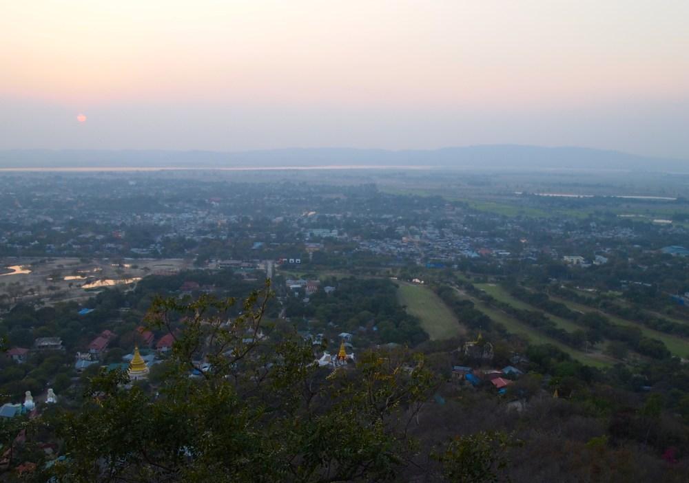 sunset on mandalay hill (3/6)