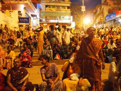 Waiting for a celebration in Varanasi, India