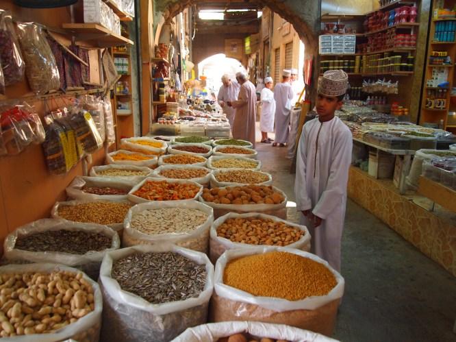the souq at Nizwa, Oman