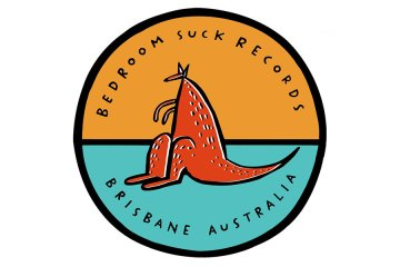 Logo of Brisbane indie record label Bedroom Suck Records
