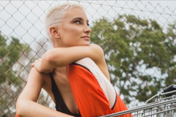 Melbourne synth-pop singer Nussy
