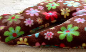 Flower Power Crinkly Mat