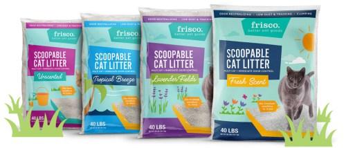 frisco cat litter