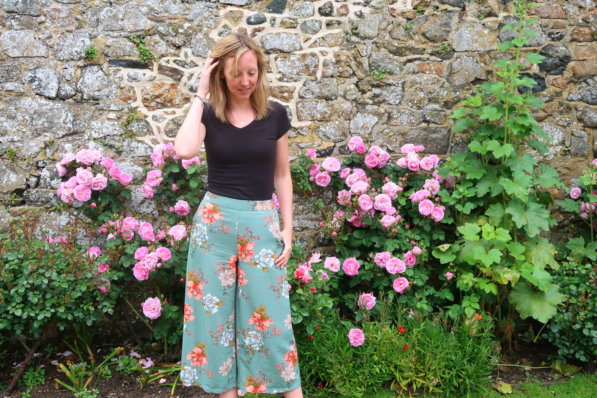primark floral trousers