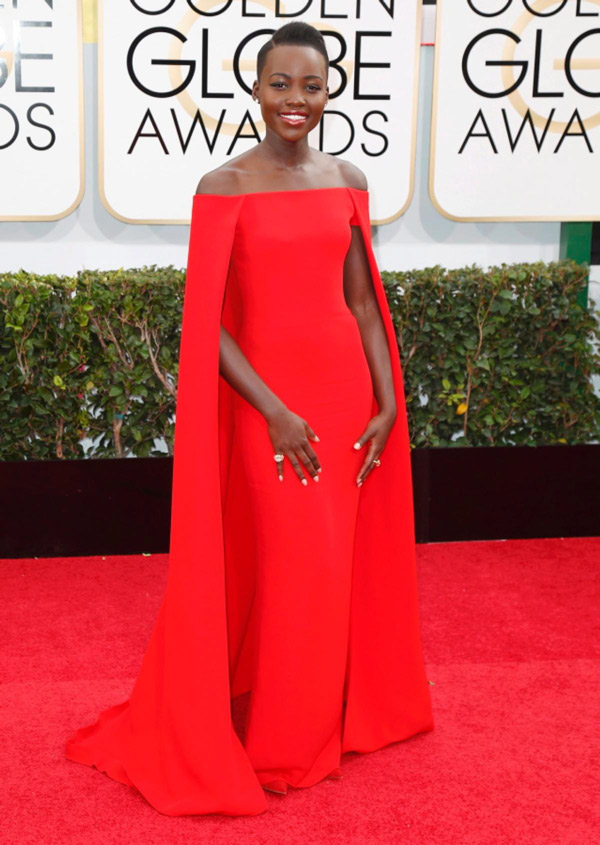 Lupita-Nyong-Golden-Globes www.catcherinthestyle.com
