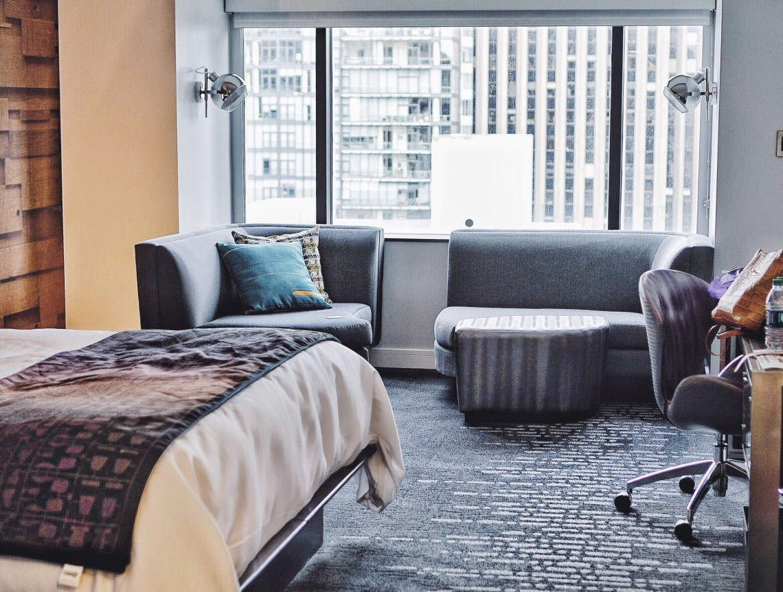 4 W hotels Seattle catcher in the Style