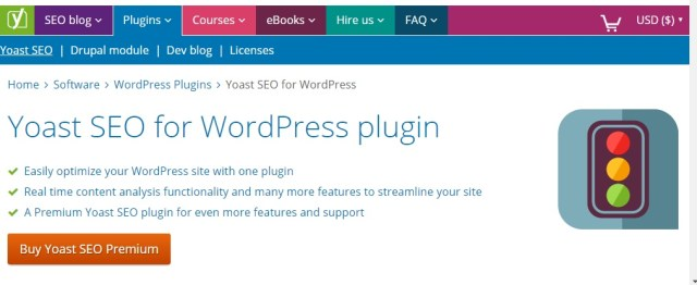 wordpress plugin yoast seo