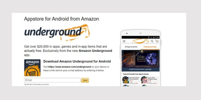 amazon underground android app