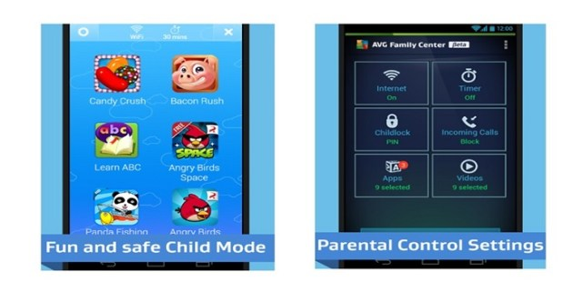 Family center parental android app