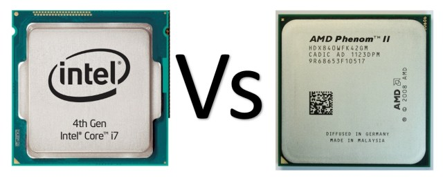 intel vs amd processors