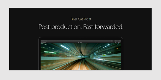final cut pro video editing software