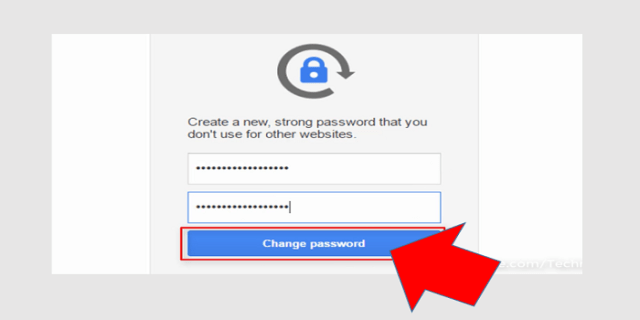 gmail confirm password