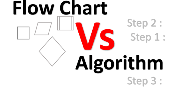flowchart algorithm difference