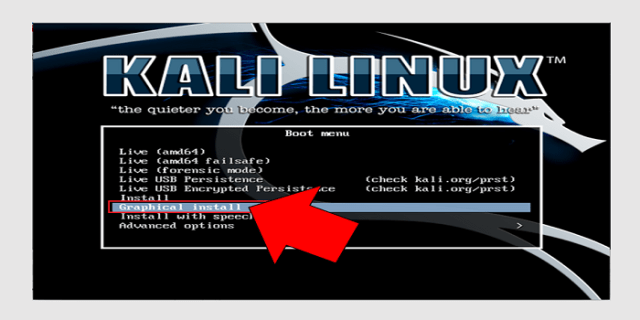 kali linux install