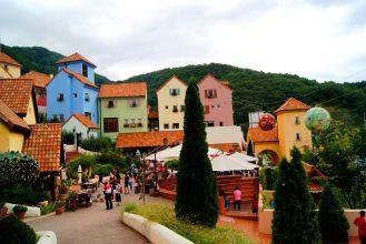 a vibrant village