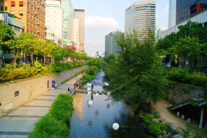 Changgyeonggung River: Seoul South Korea