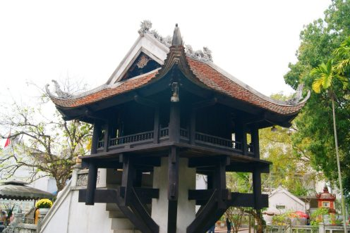One Pillar Pagoda - Tour, Things To Do and Travel Guide to Hanoi, Vietnam| Catching Carla