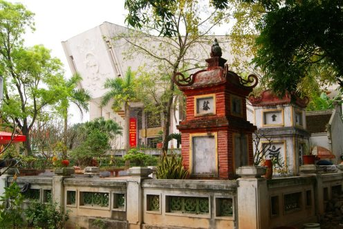 View Beside One Pillar Pagoda - Tour, Things To Do and Travel Guide to Hanoi, Vietnam| Catching Carla