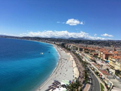 Nice France Coast