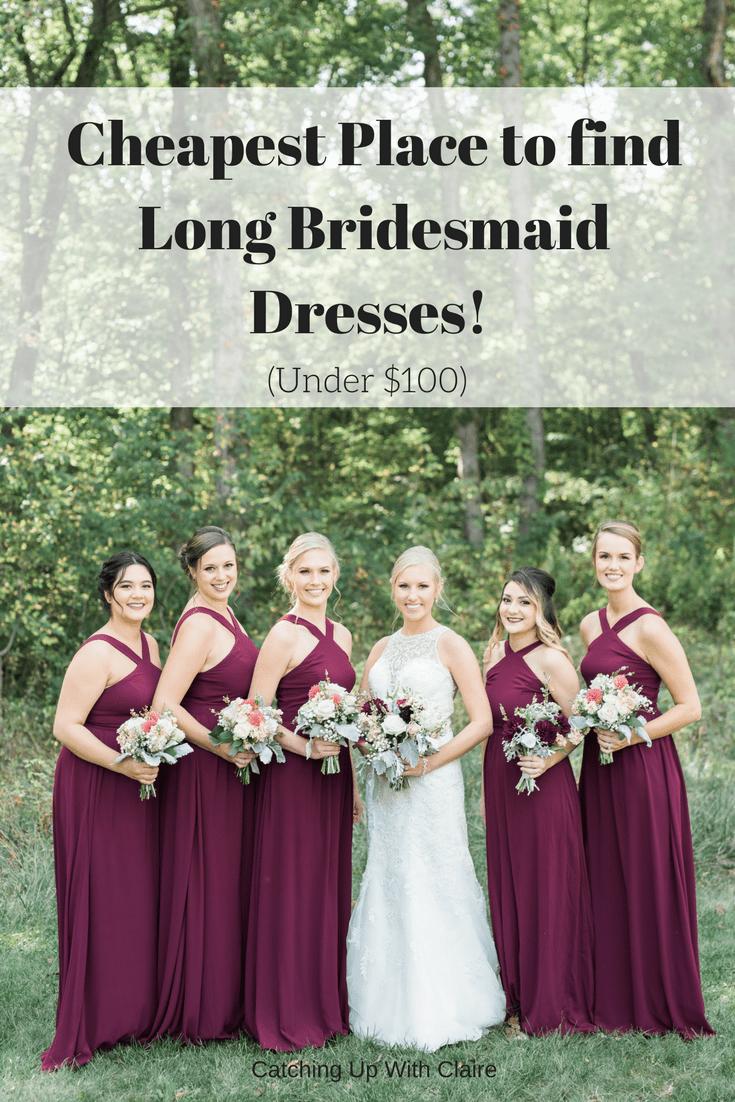 find bridesmaid dresses