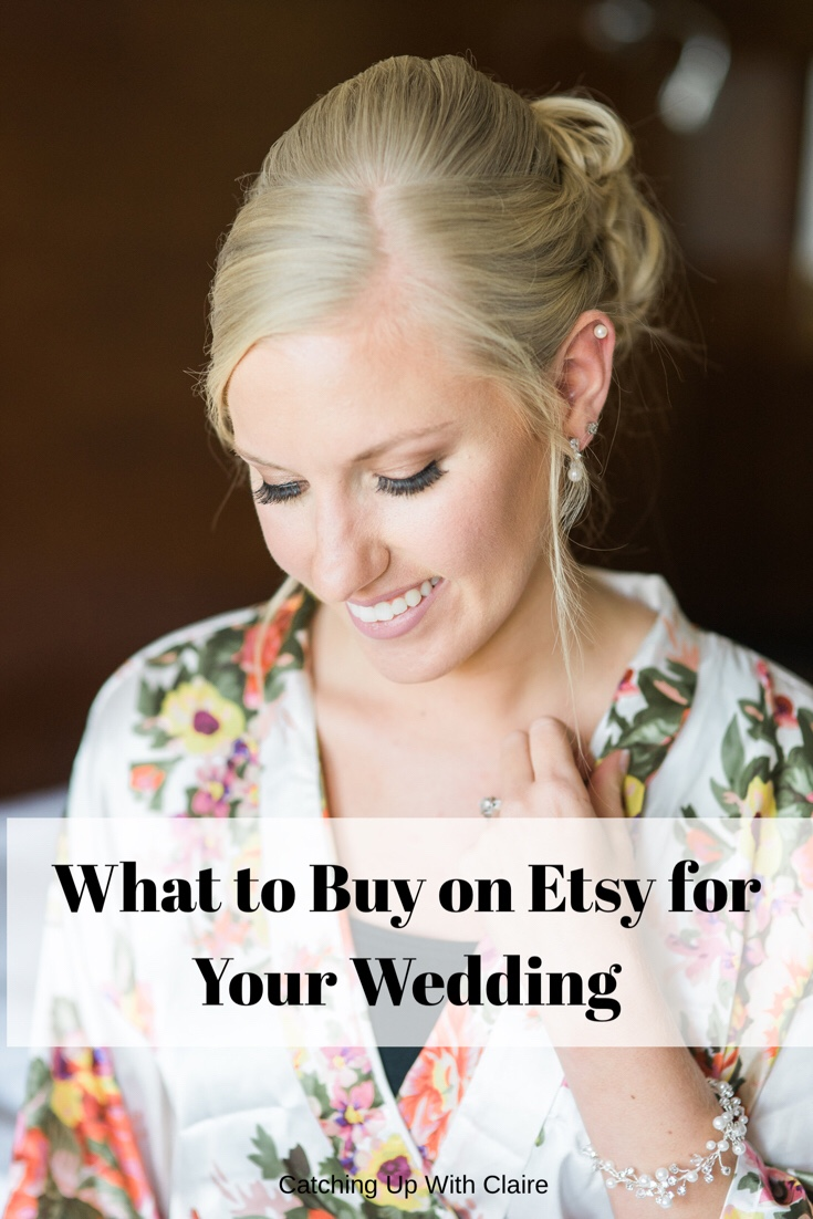 Best Etsy Wedding Buys